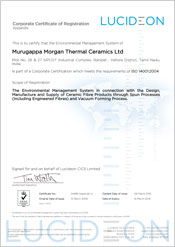 Murugappa Morgan Thermal Ceramics Ltd - Tamil Nadu, India