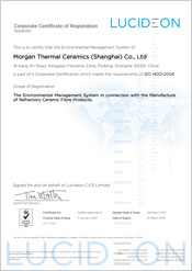 Morgan Thermal Ceramics (Shanghai) Co. Ltd - China