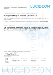 Murugappa Morgan Thermal Ceramics Ltd - Gujarat, India