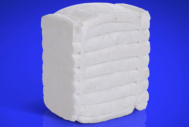 High Temperature Insulation Fibre Folded and Stacked Blanket Modules